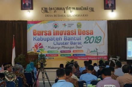 Bursa Inovasi Desa Kabupaten Bantul Cluster Barat