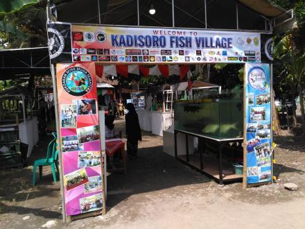 Semarak Festival Ikan Rainbow Kadisoro 2020: Menuju Desa Wisata Edukasi Ikan Hias Bantul