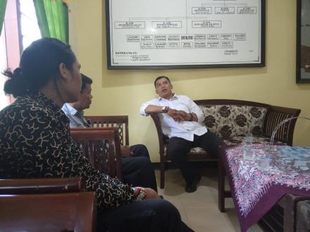 Petugas Pendampingan Desa Budaya 2020 di Gilangharjo