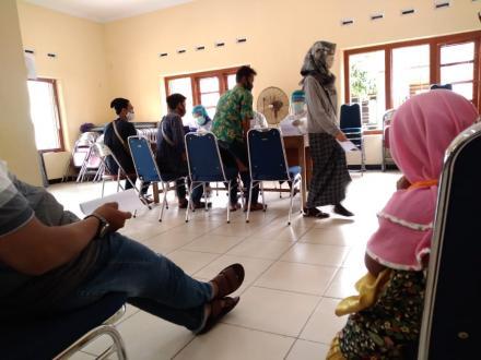 PPS Desa Gilangharjo Selenggarakan Cek Kesehatan Bagi 217 Calon Anggota KPPS