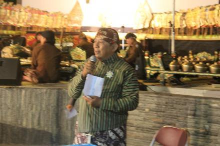 Bapak Dalyanto, Ketua BPD Desa Gilangharjo